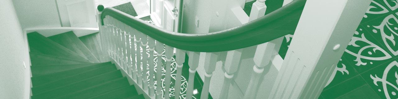 Stufen und Geländer | Akzente Treppen