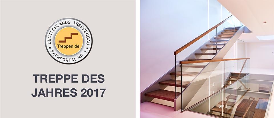 Treppe des Jahres 2017 | Akzente Treppen